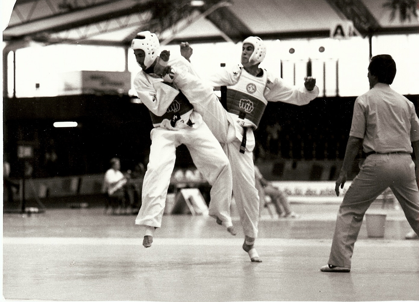 Grand Master Cooley competing at the 3rd World Games Karlsruhe, Germany – July 1989