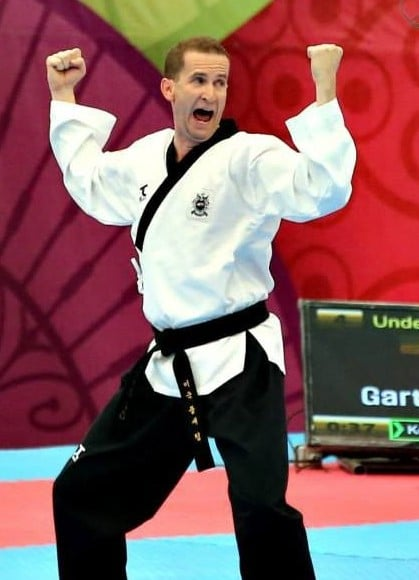 Grand Master Cooley competing at the 9th World Poomsae Championships Aguascalientes, Mexico – October 2014